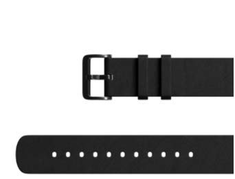 Amazfit Leather Strap 22mm Black für GTR47, Stratos, Stratos3 Smartwatch
