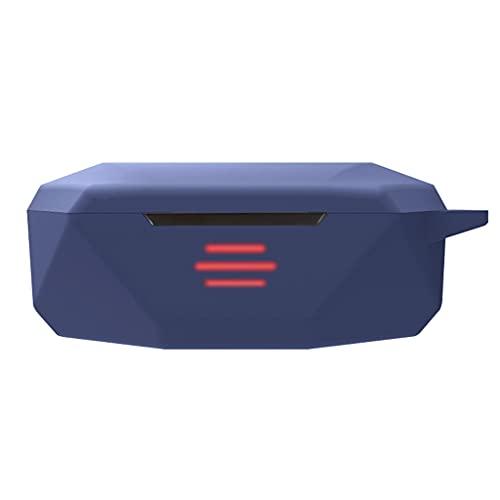 GREEN&RARE Funda protectora de silicona anticaída, funda protectora de silicona con llavero para auriculares ThundeRobot HL10 con llavero
