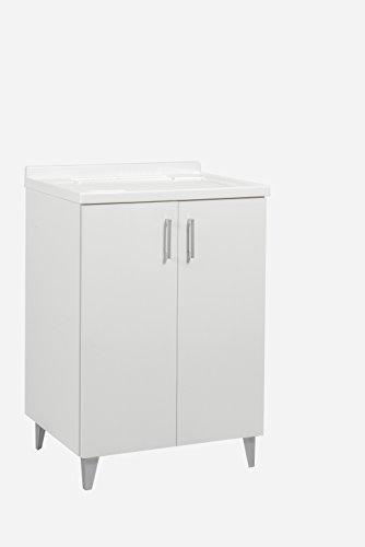 Trioplast Lavatoio lavapanni in Legno Vasca Resistente agli acidi + ASSE lavapanni 60x50