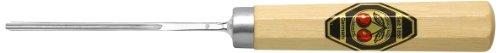 Kirschen 3247002 Kerbschnitzbeitel mit Weißbuchenheft