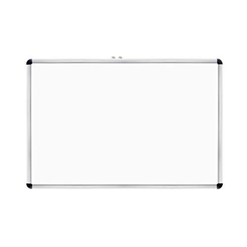 Whiteboard RENRUIRUI- Tableau Blanc Effaçable À Sec Tableau D'écriture Magnétique Simple Face avec Porte-Stylo, Cadre en Alliage D'aluminium, for l'enseignement De L'école De Conférence De Bureau