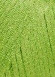 50g Laguna - Farbe: 44-maigrün - Lockeres, weiches Seidenbändchen mit schönem Lüster.