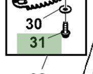 John Deere Original Equipment Screw #37M7459