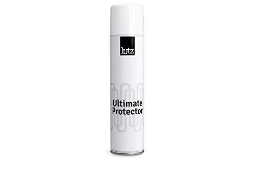 Lutz Ultimate Protector | Schuhschutzspray | Schmutz und wasserabweisend | Lederschuh und Stoffschutzspray 400 ml (13.52 FL.Oz.) | Made in Europe