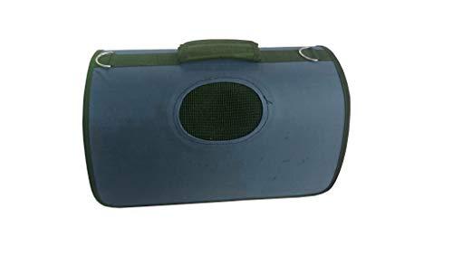 Lalia Hundebox Katzenbox Haustier Transportbox klappbare Autobox 40x30x20 cm gepolstert Katzen Henkel Tragetasche weich stabil Hunde Box