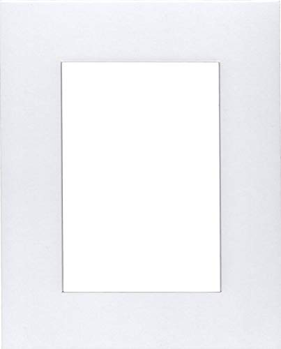 Pack of (2) 24x36 Acid Free White Core Picture Mats Cut for 20x30 Pictures in White