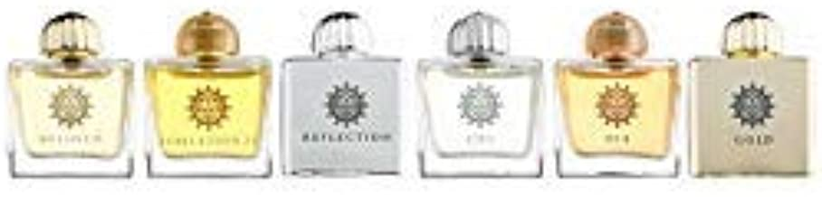 AMOUAGE Miniatures Bottles Collection Women EDP 6 x 7,5 ml + 3 Amouage Sampler Vials - Free