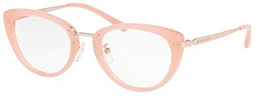 Michael Kors 0MK4063 Gafas, Rosado (Milky Pink), 51 para Mujer