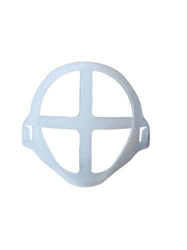5 Soporte máscara 3D para la forma de la boca, marco para boca, soportes silicona para mascarillas, soporte de protección para pintalabios