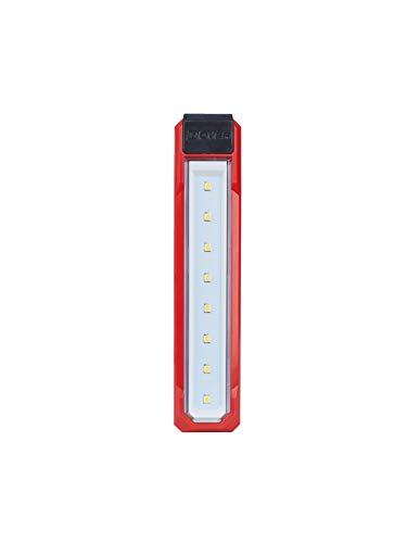 Milwaukee Lámpara de Bolsillo l4fl-201 – 1 Batería 4 V 2,5 Ah – 1 Cable USB 4933459442, red-black