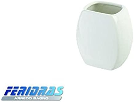 Cromo Acrilico FERIDRAS Idea Portasapone 2.5x11.5x12.5 cm