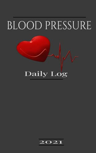 BLOOD PRESSURE DAILY LOG BOOK: AM/PM Record and Monitor Blood Pressure Log for Home: AM/PM BLOOD PRESSURE LOG FOR HOME/DOCTOR VISITS Pocket Size 5X8
