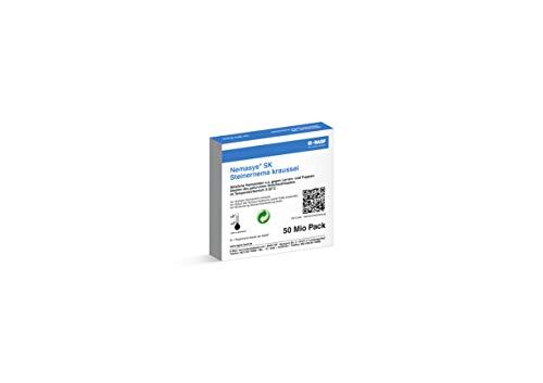 Nemasys® BASF SK Nematoden 50 Mio. (100m²) gegen Dickmaulrüssler (Steinernema kraussei) - wirksam ab 5°C