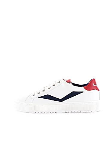 VOILE BLANCHE Fit II-Sneaker in Vitello Bianco 42