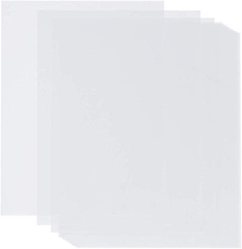 Vellum Paper 8.5 x 11, Anezus 110 Sheets Translucent Vellum Drafting Paper Transparent Clear Tracing Paper for Printing Sketching Tracing Drawing Animation