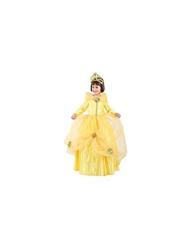 DISBACANAL Disfraz de Princesa Bella nia - -, 6 aos