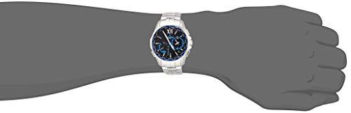 『[カシオ] 腕時計 オシアナス Manta 電波ソーラー OCW-S3400-1AJF シルバー』のトップ画像