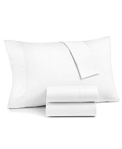 AQ Textiles Grayson 950 Thread Count Cotton Rich Queen Extra Deep 4 Piece Sheet Set White