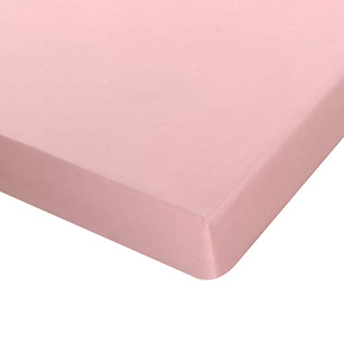 COOLAPA Bed Sheet, Pink Microfiber Bed Sheets, Which Are Suitable For Water Beds, Box Spring Beds And Various Mattresses Under 28cm (Color : Pink, Size : 150x200cm)