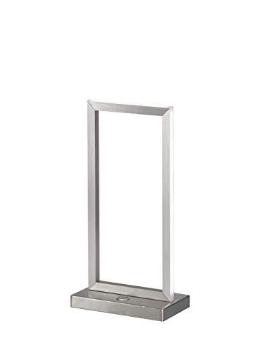Wofi LED Tischleuchte Skip, 10W, 750 lm, Warmweiß (3000 K), mit 3-Stufen Touch-Dimmer