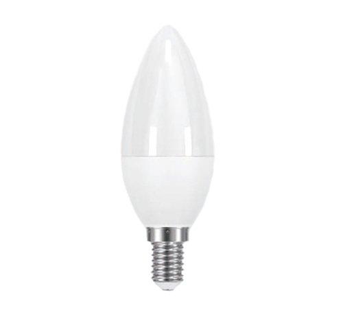 Laes 986181 Bombilla Vela LED Mate E14, 5.5 W, Blanco, 37 x 98 mm