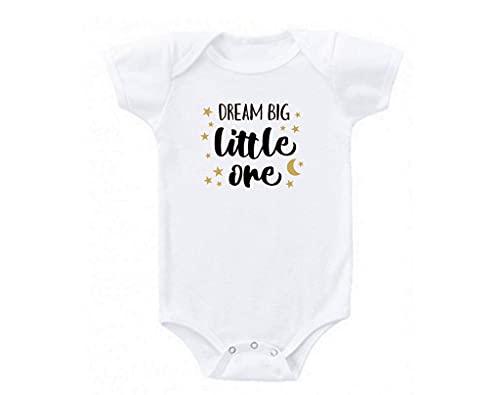 VJSDIUD Dream Big Little ONE Cute Love Babe Gift Babies Body para bebé