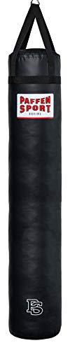 Paffen Sport «Allround» Box- und Kick-Boxsack – schwarz – gefüllt – 80cm – 25kg