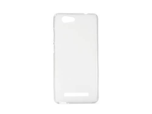 etuo Handyhülle für Allview X3 Soul Lite - Hülle FLEXmat Case - Weiß - Handyhülle Schutzhülle Etui Case Cover Tasche für Handy