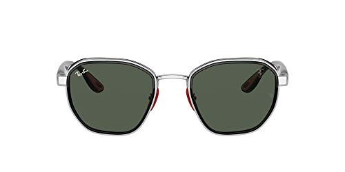 Ray-Ban 0RB3674M Gafas, Silver, 51 Unisex