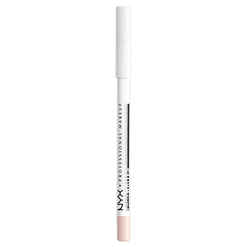 NYX PROFESSIONAL MAKEUP Faux Whites Eye Brightener, Eyeliner Pencil - Linen, Pastel Peach