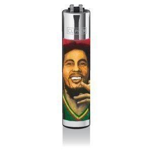 Clipper® Feuerzeug - Edition Hemp Legends Bob Marley