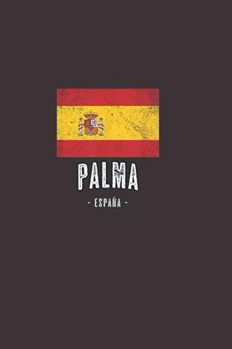Palma Spain: Cuaderno de compañeros de trabajo con forro en blanco Cuadernos de oficina divertidos / Cuadernos y cuadernos de oficina .110 páginas.