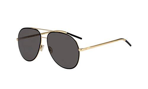 Dior DIORASTRAL IR 2M2 Gafas de sol, Negro (Black Gold/Grey Grey), 59 para Mujer