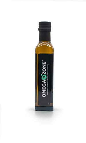 Omega 3 Fischöl flüssig bei erhöhtem Bedarf (z.B. Stress o. Sport), hochdosiert: 4694 mg pro Portion, mit Zitronengeschmack, 250 ml, Deutsche Premium-Qualität von Omega3 Zone