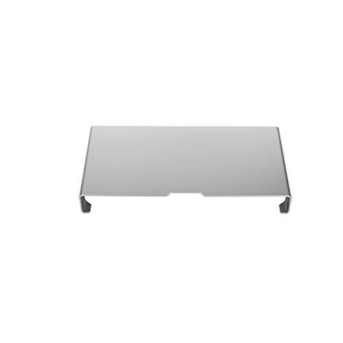 LBYMYB Aleación de aluminio aumentado pantalla de ordenador de escritorio LCD aumentada, bandeja de una máquina Pad de escritorio alta base multifuncional 40 x 21 x 5 cm portátil refrigerador
