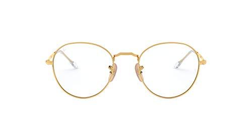Ray-Ban Unisex-Erwachsene 0RX 3582V 2500 51 Brillengestelle, Gold