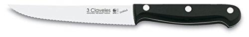 3 claveles Uniblock – Couteau à Steak 12 cm, 4,5 Pouces