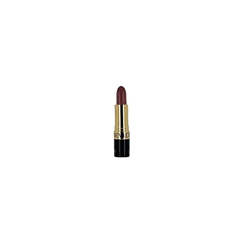 ジョージエリオットやけどアプトレブロンスーパー光沢のある口紅ミンク671 x4 - Revlon Super Lustrous Lipstick Mink 671 (Pack of 4) [並行輸入品]
