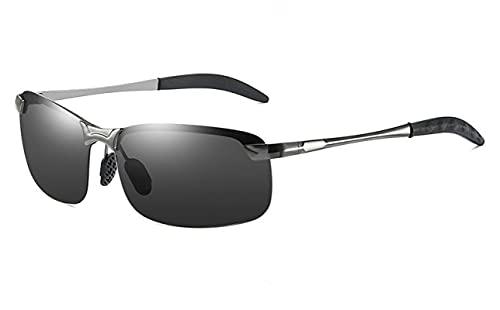 XINMAN Gafas De Día Y Noche Polarizadas Que Cambian De Color para Conducir, Visión Nocturna, Espejo De Conducción, Tendencia, Gafas De Sol A Prueba De Viento.