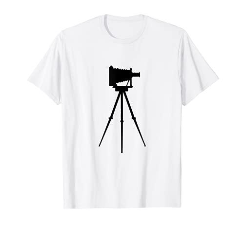 Fotógrafo de cámara antigua Camiseta