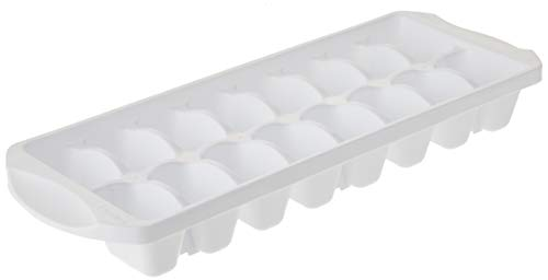 STERILITE FBA 72408012, Stacking Ice Cube Tray, White-1 Pack