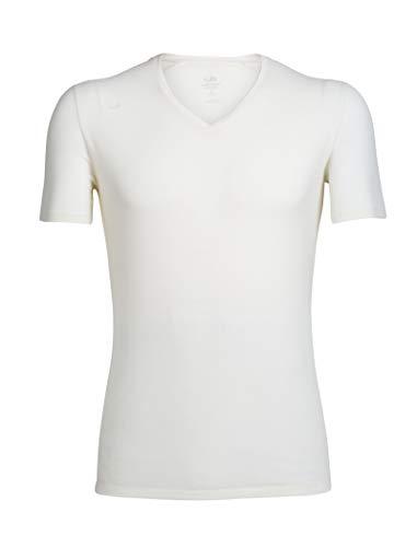 icebreaker Merino Anatomica Herren T-Shirt, kurzärmelig, Größe M, Snow