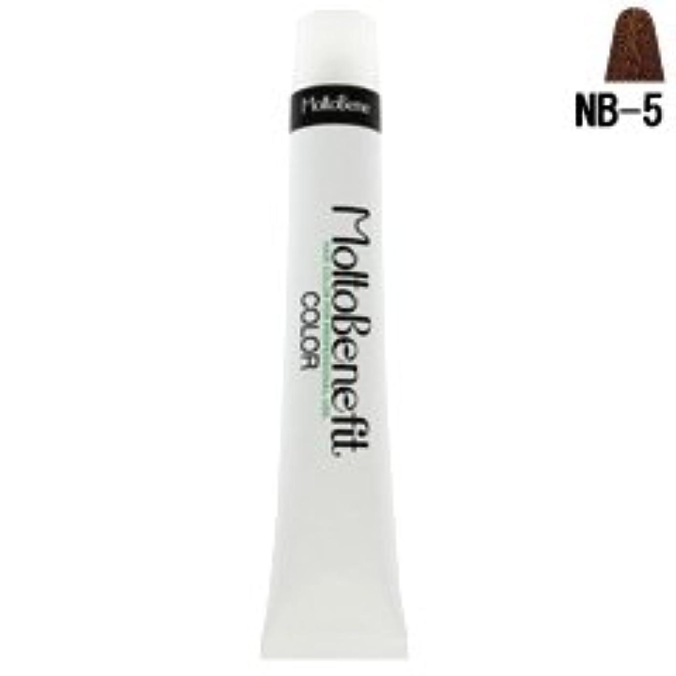 ディーラースロープやむを得ない【モルトベーネ】フィットカラー グレイナチュラルカラー NB-5 ナチュラルブラウン 60g