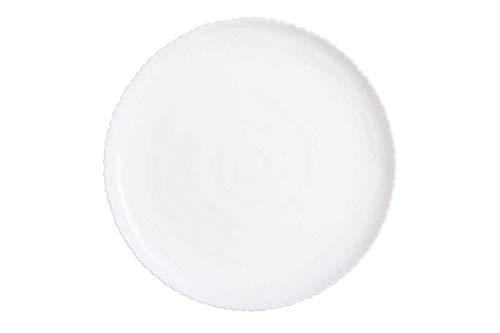 Luminarc - Juego de vajilla de cristal de ópalo (18 piezas, 18 platos de cena)