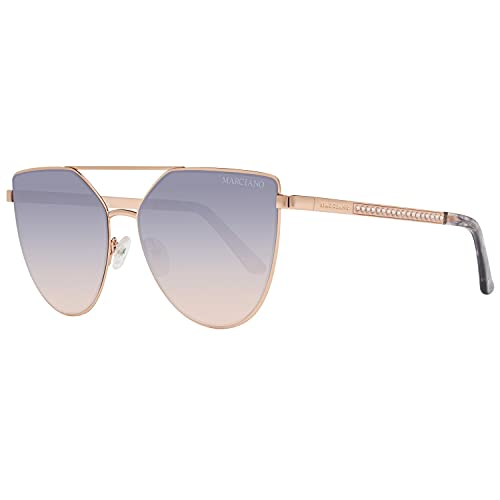 GUESS by MARCIANO Ladies Sunglasses Butterfly Gold