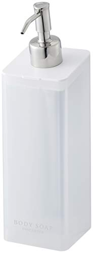 山崎実業(Yamazaki)マグネットツーウェイディスペンサーボディソープホワイト約W7XD9XH24cmミストポンプディスペンサーボトル4487