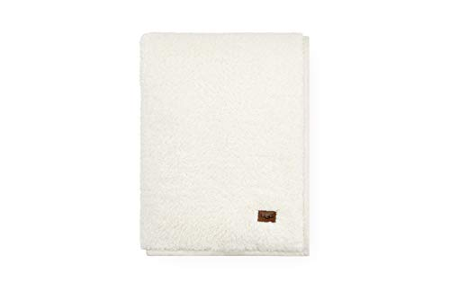 UGG Blake Throw Blanket, Natural/Snow Trim