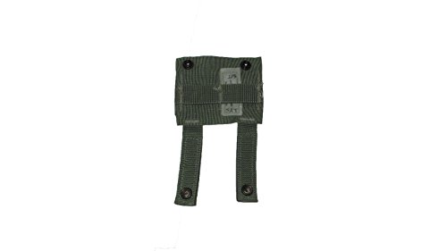 Specialty Defense Systems G.I. Military MOLLE II Alice Clip Adaptor - Green - Set of (2)
