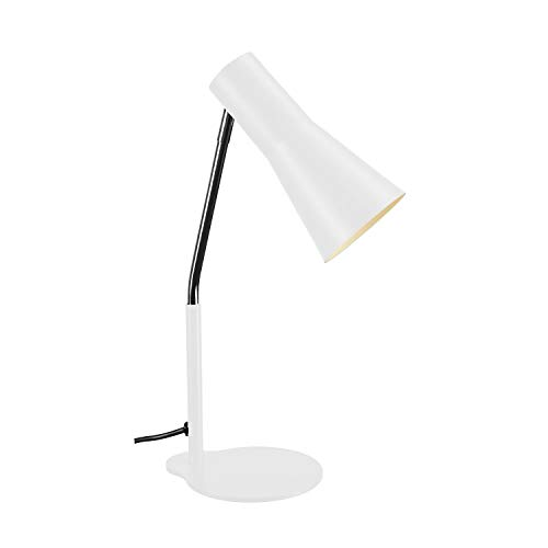 SLV Phelia, Lampe à Poser Blanc, GU10, Max. 35W