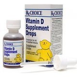 RX Choice Vitamin D Supplement Drops, 1-2/3 Fl oz